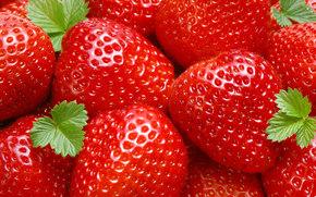 клубника, ягоды, еда