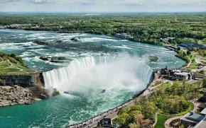 cascata, Cascate del Niagara, acqua