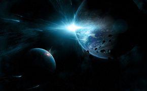 meteor, glow, flow