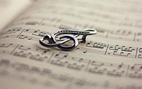 libro, musica, Violino, chiave