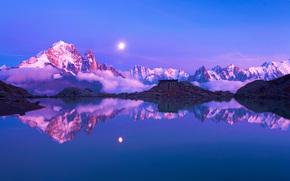альпы, франция, горы