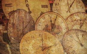 часы, старинные, стрелки