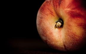 еда, фрукт, персик, обои