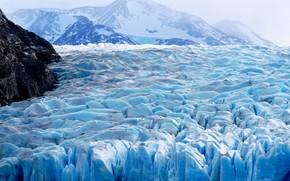 nature, winter, ice