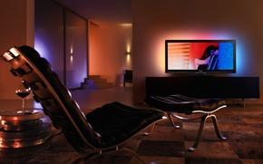 ностальгия, настроение, романтика, комната, вечер, тусклый свет, телевизор, разное