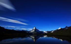 Svizzera, Montagne, notte