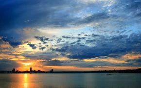 kazan, City, dawn