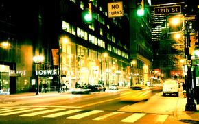 noite, rua