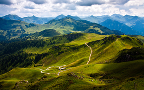 montagna, Austria