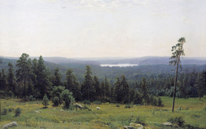 Shishkin, Forest distance, picture