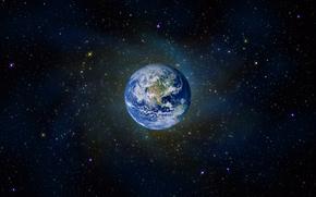 land, universe, Stars
