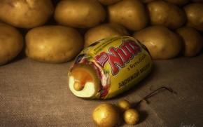 チョコレート, ポテト, Bulbash