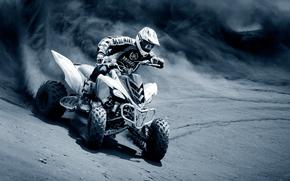 ATV, dirt, racer