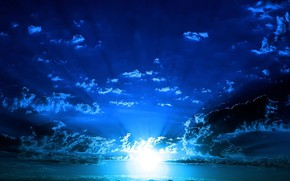 cielo, luce, mare