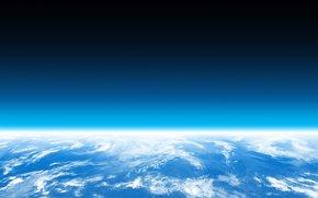 планета, горизонт, много