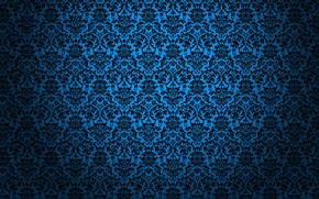 текстуры, обои, синий