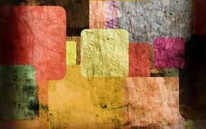 colorful, прямоугольники, Textures, винтаж