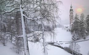 inverno, Tirolo, Austria