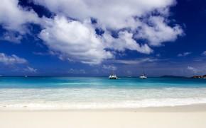 ocean, sand
