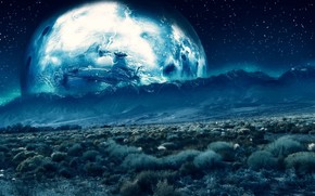 deserto, terra, luce, Carta da parati