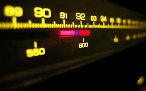 radio, muzyka, skala