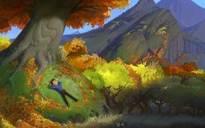 Herbst, Laub