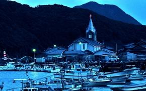 port, Japan, Boats