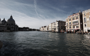 venice, palace, channel