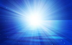 light, azure, flash