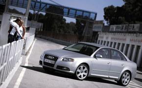 Audi, A4, Carro, maquinaria, carros