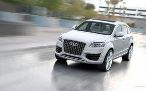 Audi, Q7, auto, Machines, Cars