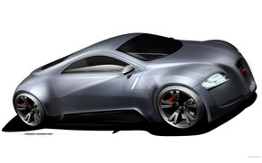 Audi, R-Zero, auto, Machines, Cars