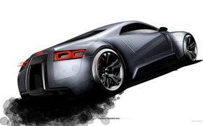 Audi, R-Zero, авто, машины, автомобили
