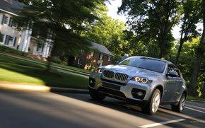 BMW, X6, auto, Machines, Cars