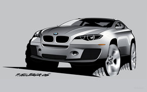 BMW, X6, авто, машины, автомобили