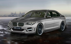 BMW, 7-er, auto, Machines, Cars