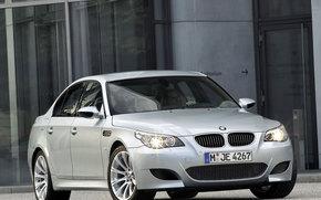 BMW, Serie 5, Coche, Maquinaria, coches
