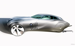BMW, Concept Coupe, auto, Machines, Cars
