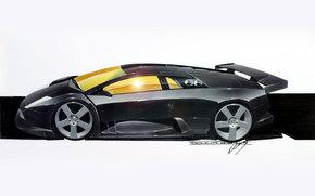 Lamborghini, Countach, auto, Machines, Cars