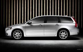 Volvo, V50, Coche, Maquinaria, coches
