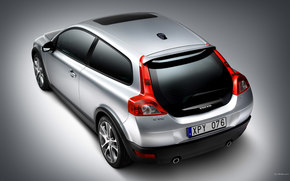 Volvo, C30, auto, Machines, Cars