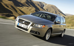 Volvo, V70, auto, Machines, Cars