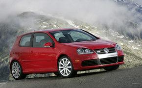 Volkswagen, Golf 3D, Carro, maquinaria, carros