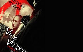 В«VВ» Vendetta, V for Vendetta, film, movies
