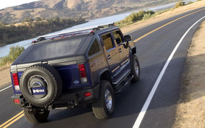Hummer, H2, auto, Machines, Cars