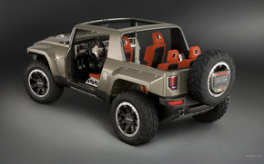 Hummer, HX, auto, Machines, Cars