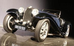 Bugatti, Classics, auto, Machines, Cars