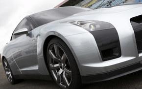 Nissan, GT-R, auto, Machines, Cars