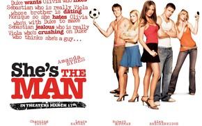 Она - мужчина, She's the Man, фильм, кино