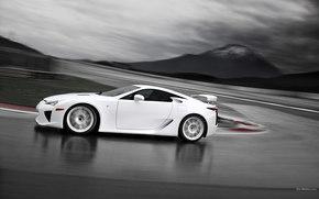 Lexus, LFA, Coche, Maquinaria, coches